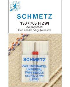 Schmetz Tweelingnaald 3,0/90